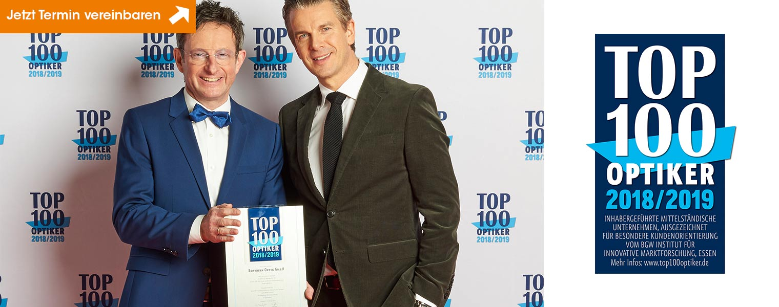 Bothorn ist Top 100-Optiker 2018!